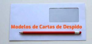modelos de cartas de despido completos descargar